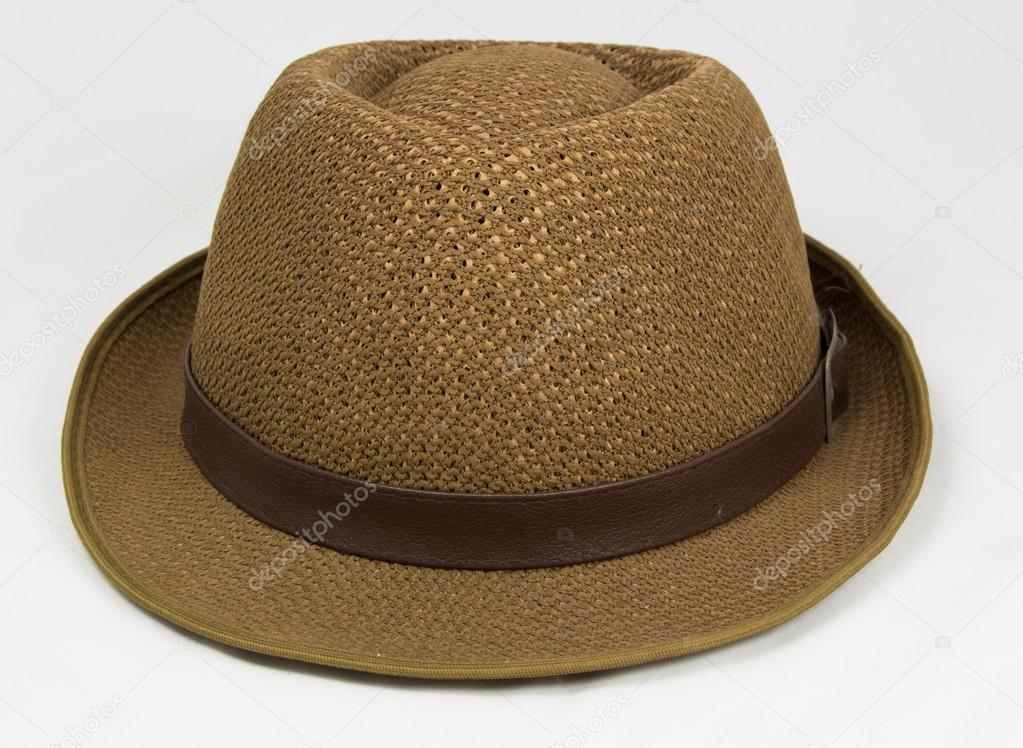 Slaměný klobouk izolovaných na bílém pozadí — Fotografie od ... 295cac2fb1