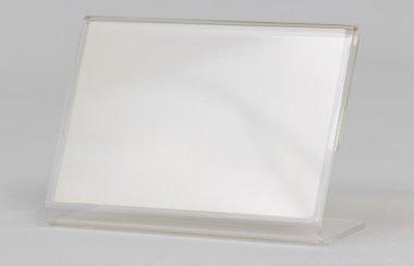 Acrylic card holder