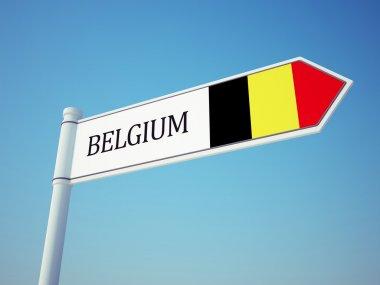 Belgium Flag Sign
