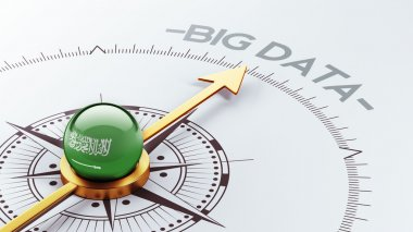 Saudi Arabia Big Data Concept