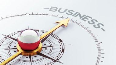 Poland Business Concept