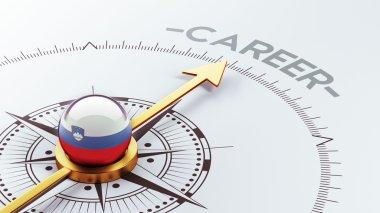 Slovenia Career Concept