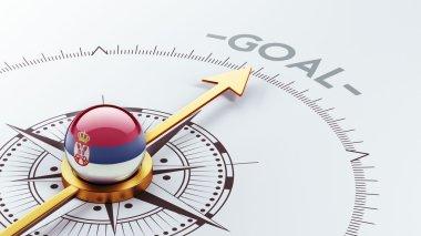 Serbia Goal Concept