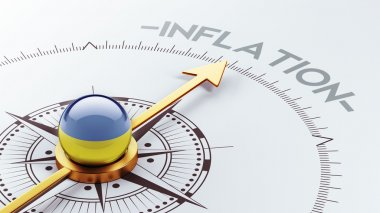 Ukraine Inflation Concep