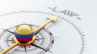Colombia Law Concept