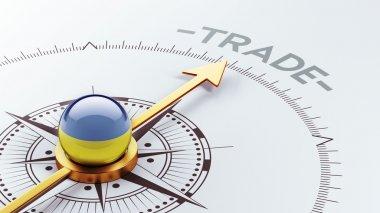 Ukraine Trade Concept