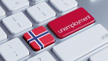 Norway  Unemployment Concept