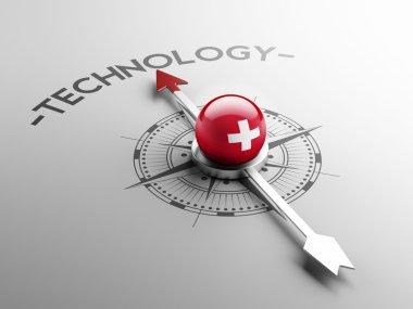 Switzerland Technology Concept