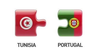 Tunisia Portugal  Puzzle Concept
