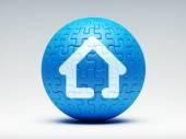 Puzzle domů Icon