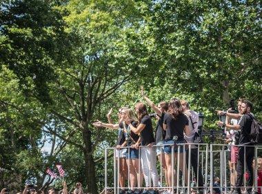 Bizi Kadınlar Dünya Kupası kutlamaları New York'ta kazanmak