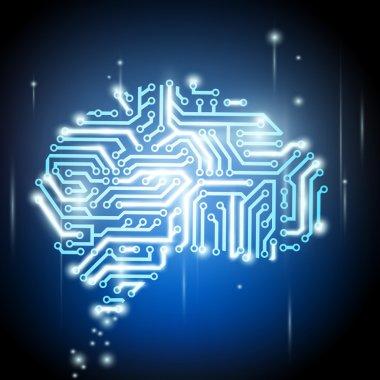 the human brain as a computer chip