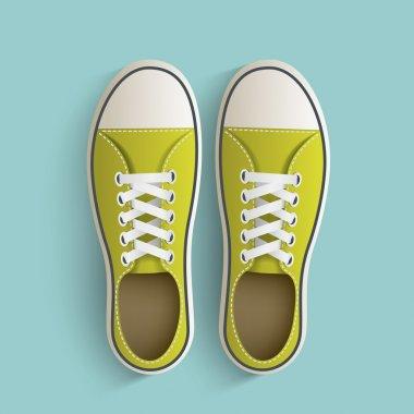 Old vintage sneakers.