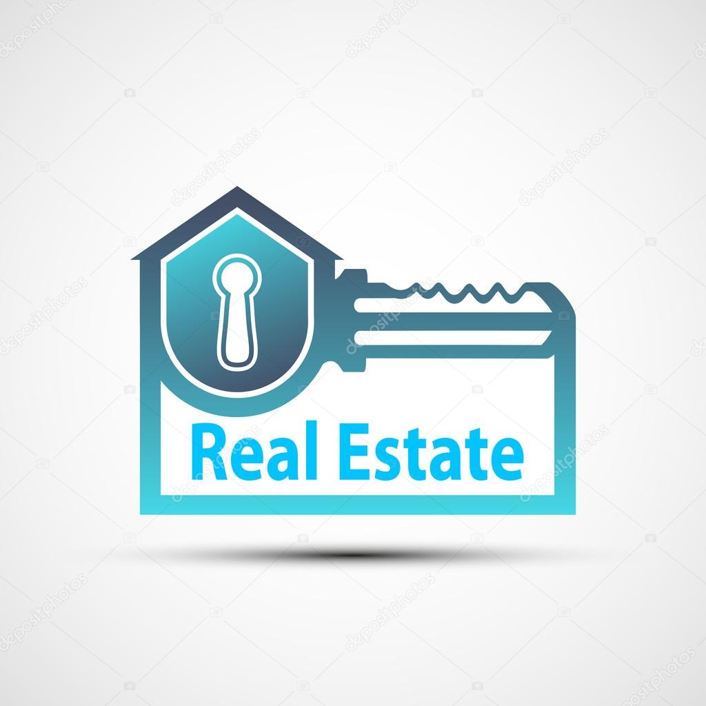 Vector logo of the real estate