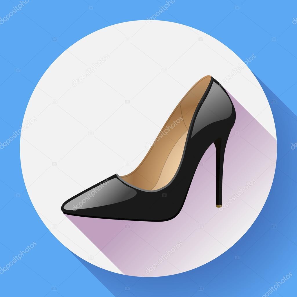 Zapatos Altos Moda Tacón Estilo Icono Mujer Vector De r4Hqn1rYZ