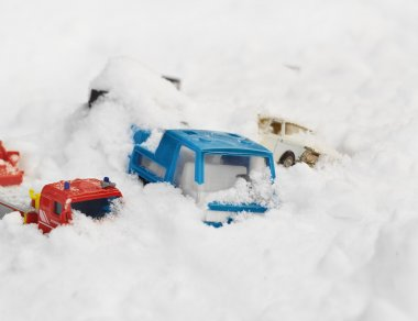 Toy Cars Stuck