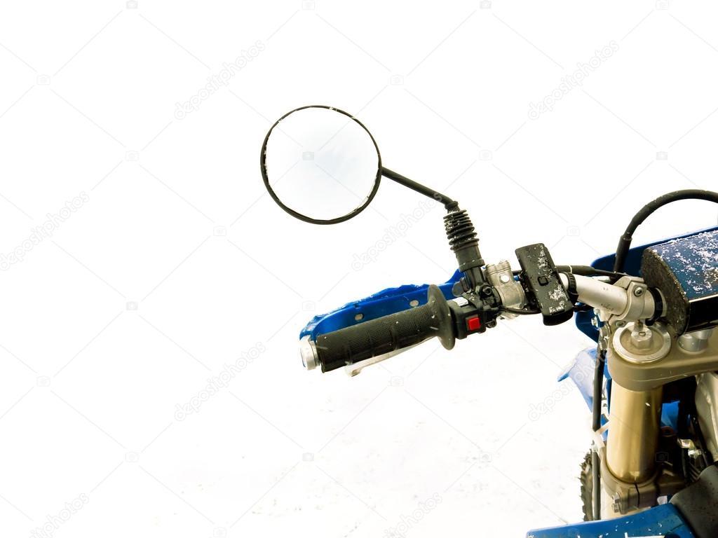 Fiets Stuur Spiegels : Fiets spiegel u2014 stockfoto © vectorass #63980405