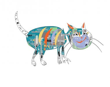 Electronic Cat