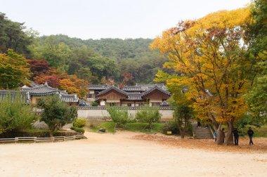ANDONG, KOREA - OCTOBER 24, 2010: Dosan Seowon