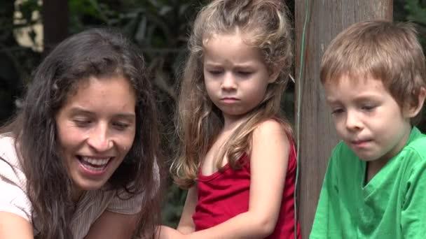Svobodná matka a děti