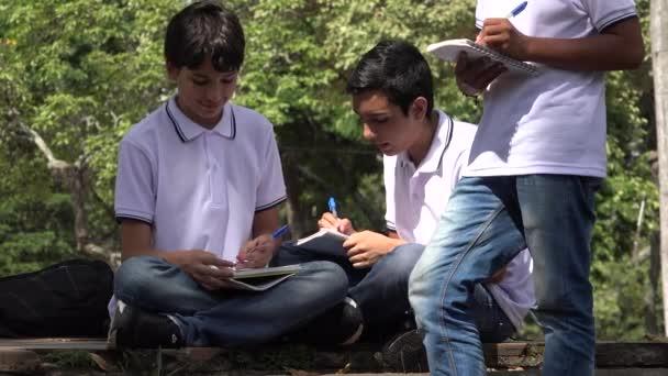 Tini iskola fiú tanul