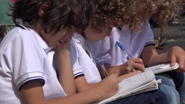 Elementary School Boys Drawing