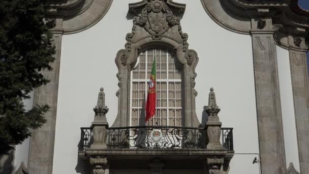 Portugál zászló a portugál nagykövetség