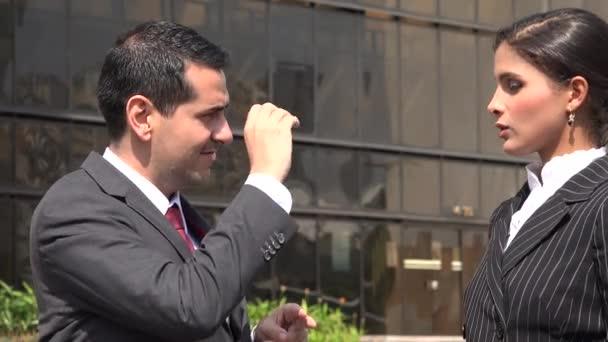 Deaf Person Using Sign Language  Being Misunderstood