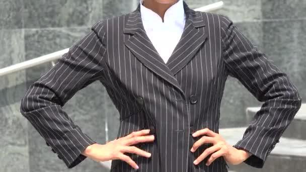 Žena modelování Business oblečení