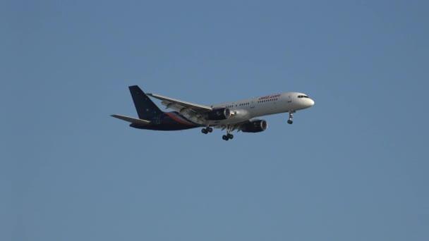 Komerční dopravní letadlo letadlo přistání