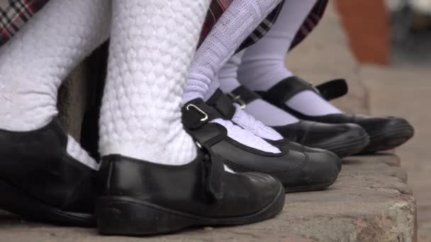 Female Students Socks And Shoes