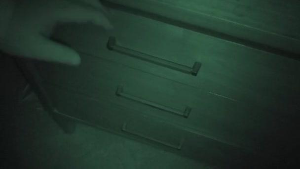 File Cabinet, Burglary, Nightshot
