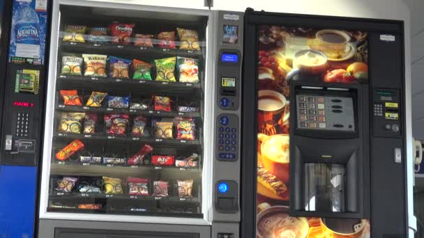 Vending Machine, Chips, Cookies, Candy