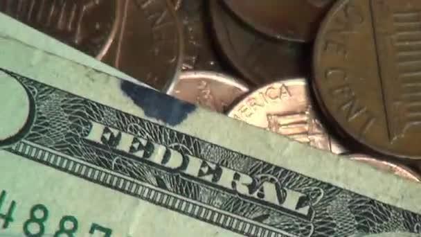 Vereinigte Staaten Von Amerika Geld Währung Münzen Scheine