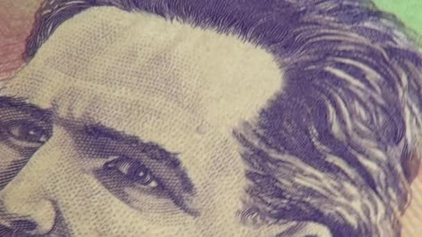papírové peníze, bankovky, měna, Kolumbie