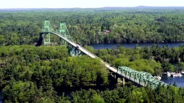 visuté mosty, rozsahy, lávky pro pěší