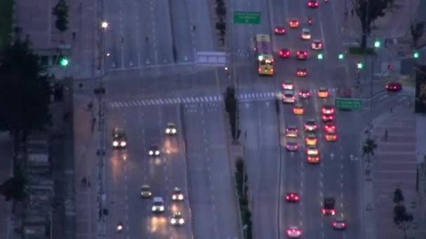 Night Traffic, Headlights, Cars, Driving