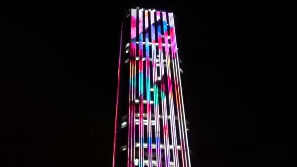 Bürogebäude, Wolkenkratzer, Nacht, Stadt