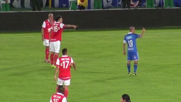 märz 14 2014 - bogota, kolumbien - misslungenes offensives fußballspiel