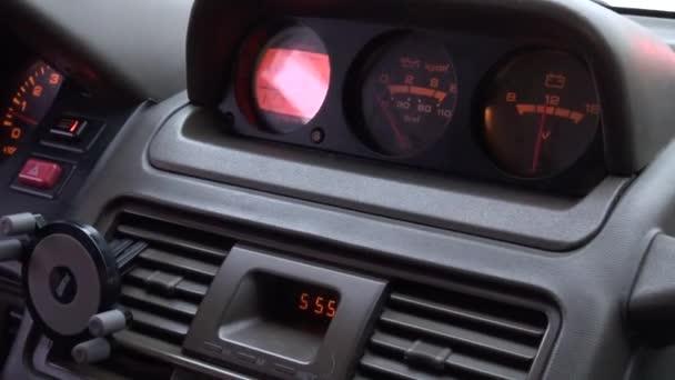 blatník auta, automobily, ovládací panel