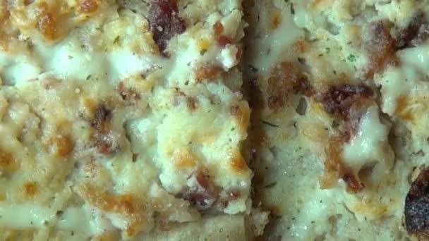 pizza, gyors élelmiszerek, dzsunka élelmiszerek, olasz konyha