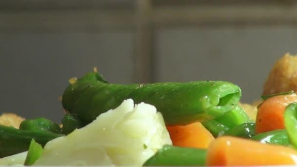 Vegyes zöldség, zöldségeket, vegetáriánus ételek