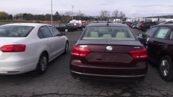New Cars, Car Dealership, Parking Lot
