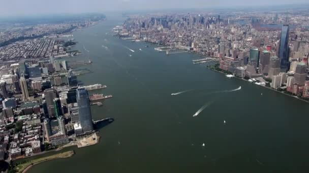 New York City Aerial, Manhattan, Buildings