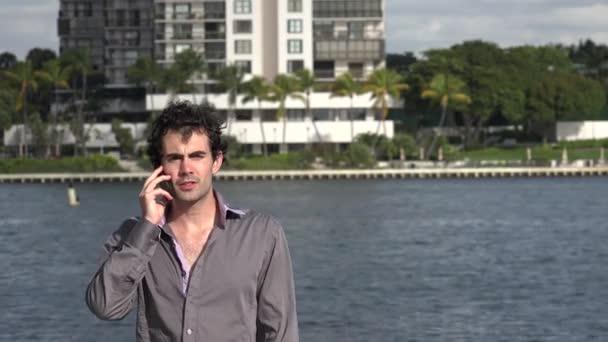 Člověk s použitím mobilní telefon, mobilní, mobilní telefon