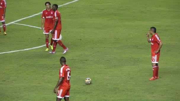 Játékos foci büntetőrúgás