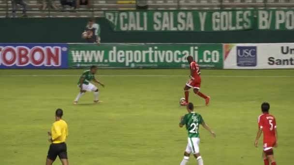Soccer Player Outwits Defense