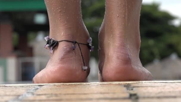 Ženské plavec nohy