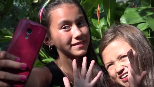 Best Friends Taking Selfie