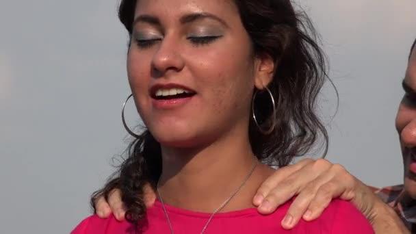 Muž dává žena A masáž